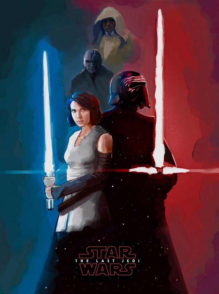 8 - Les posters de Star Wars VIII - The Last Jedi Aa10
