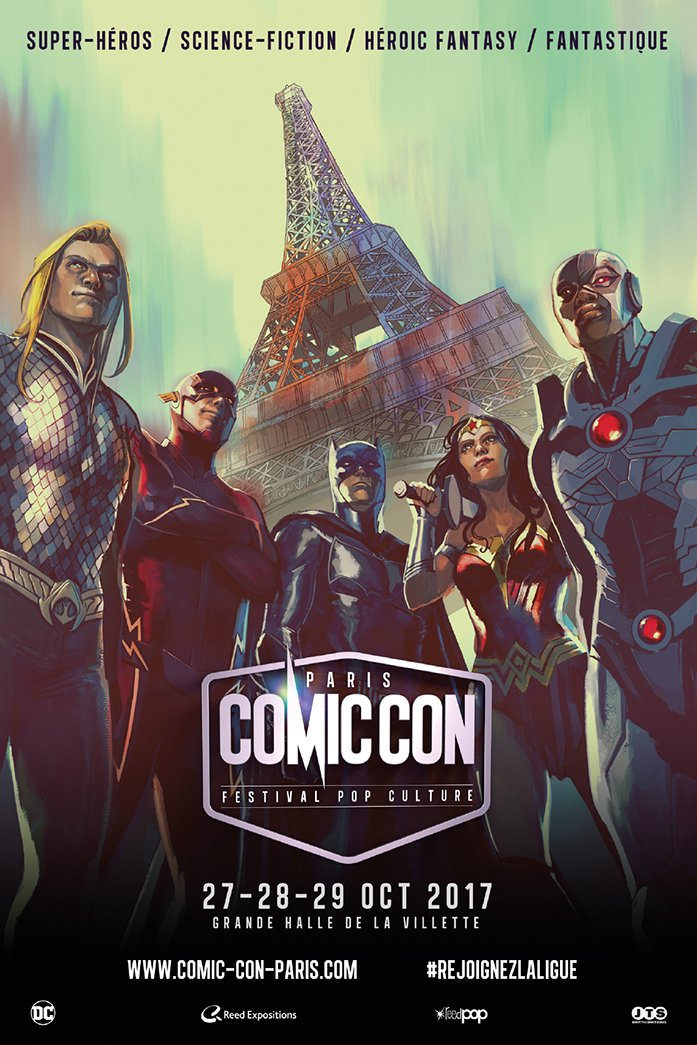 Comic Con Paris 27-28-29 octobre 2017  Affich10
