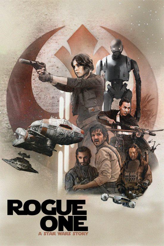 Rogue - LES AFFICHES de ROGUE ONE  - Page 2 Affich13