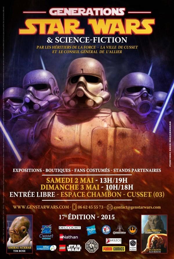 Générations Star Wars & SF - Cusset (03) 02-03 Mai 2015   - Page 2 Affich26