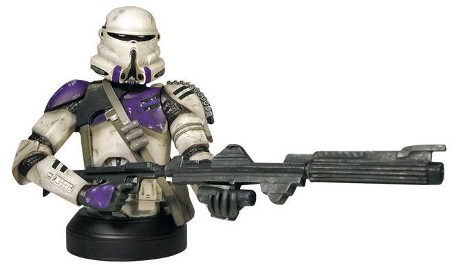 Gentle Giant - Airborne Trooper Mace Windu Squad Mini Bust Airbor10