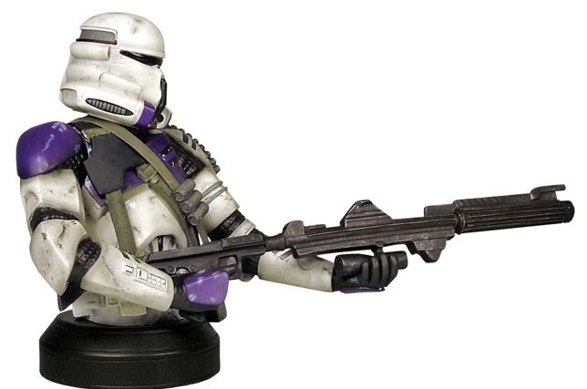 Gentle Giant - Airborne Trooper Mace Windu Squad Mini Bust Airbor11