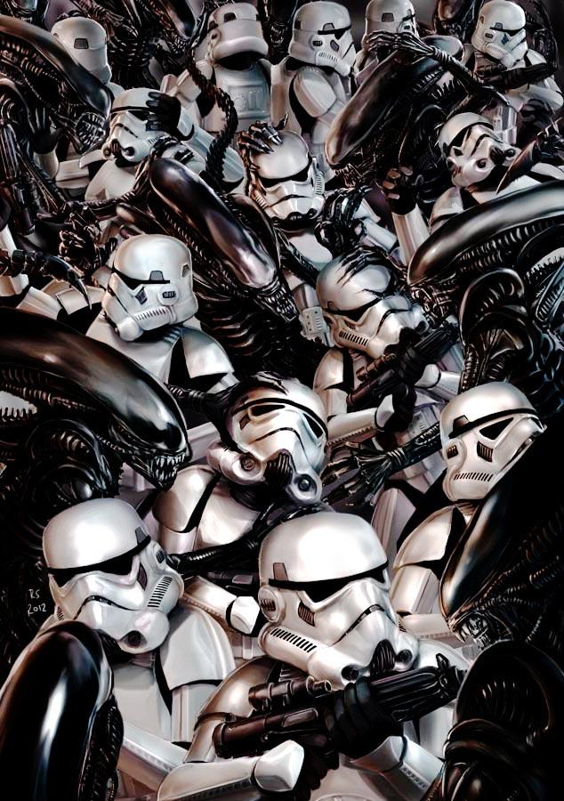 Star wars - Digital Art - Discussion générale Alienv10