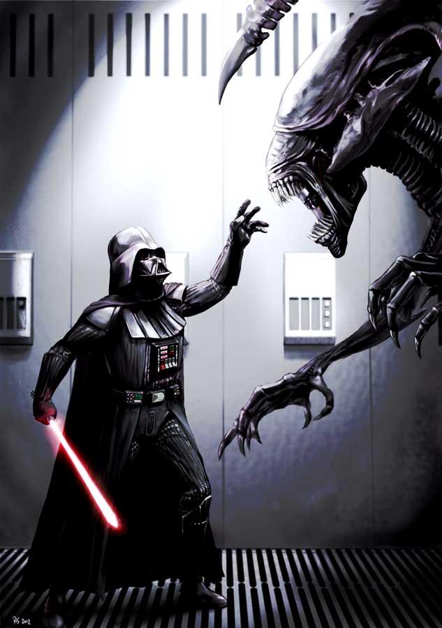 Star wars - Digital Art - Discussion générale Alienv11