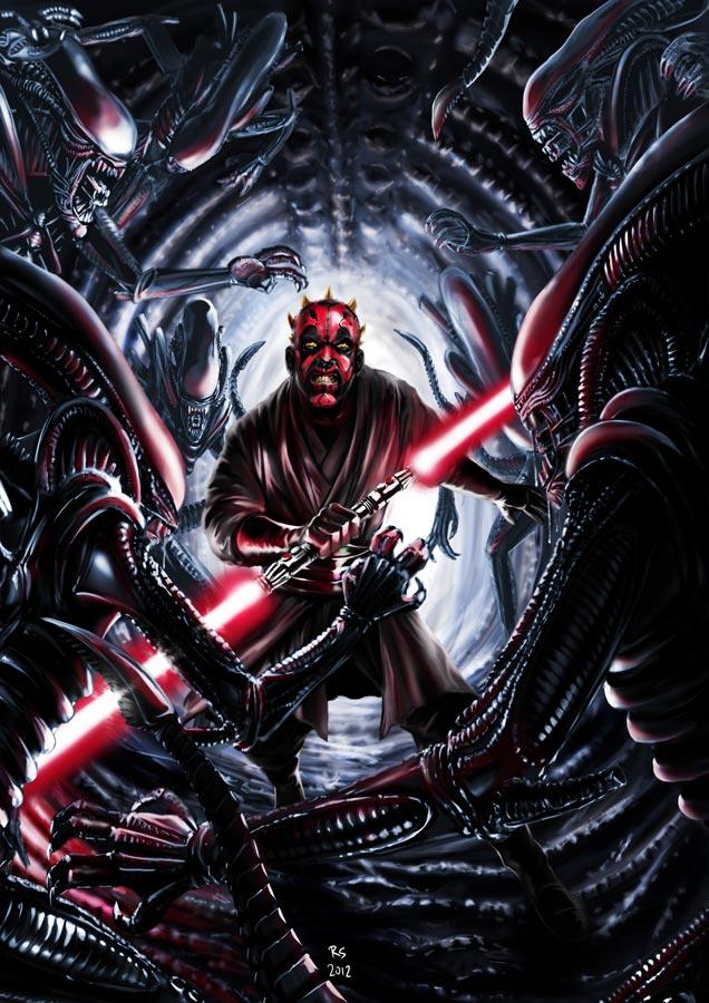 Star wars - Digital Art - Discussion générale Alienv12