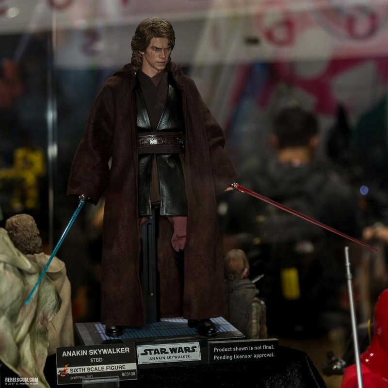 Hot Toys Star Wars EP3 Anakin Skywalker Sixth Scale Figure  Anakin10