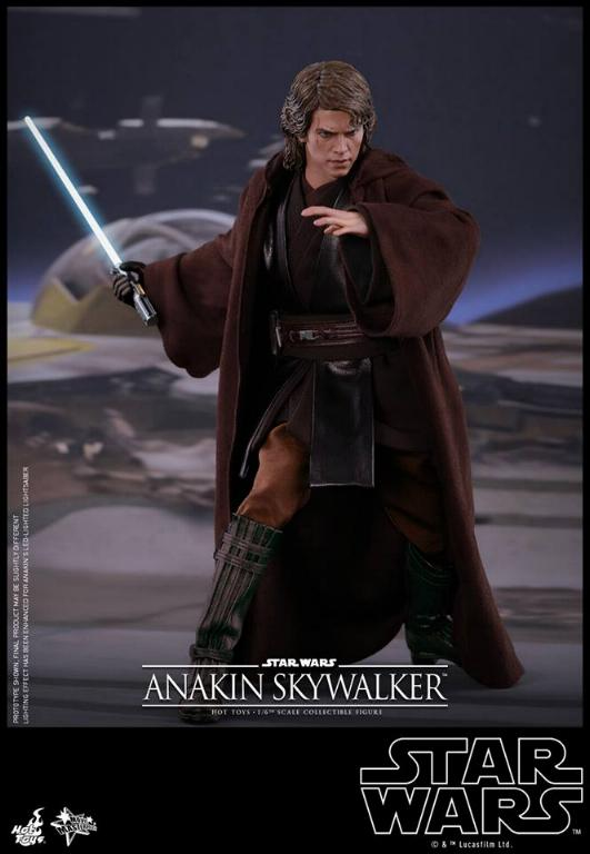 Hot Toys Star Wars EP3 Anakin Skywalker Sixth Scale Figure  Anasky34