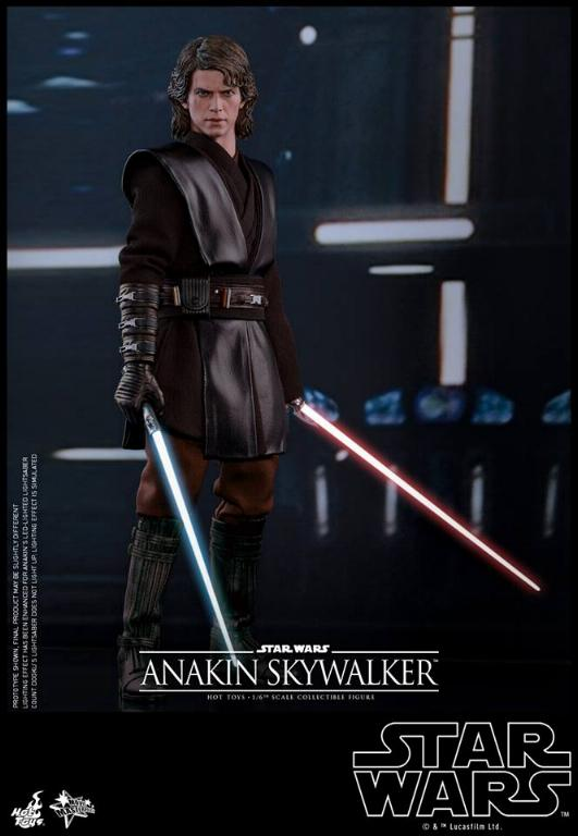 Hot Toys Star Wars EP3 Anakin Skywalker Sixth Scale Figure  Anasky35