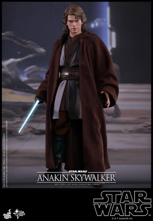 Hot Toys Star Wars EP3 Anakin Skywalker Sixth Scale Figure  Anasky36