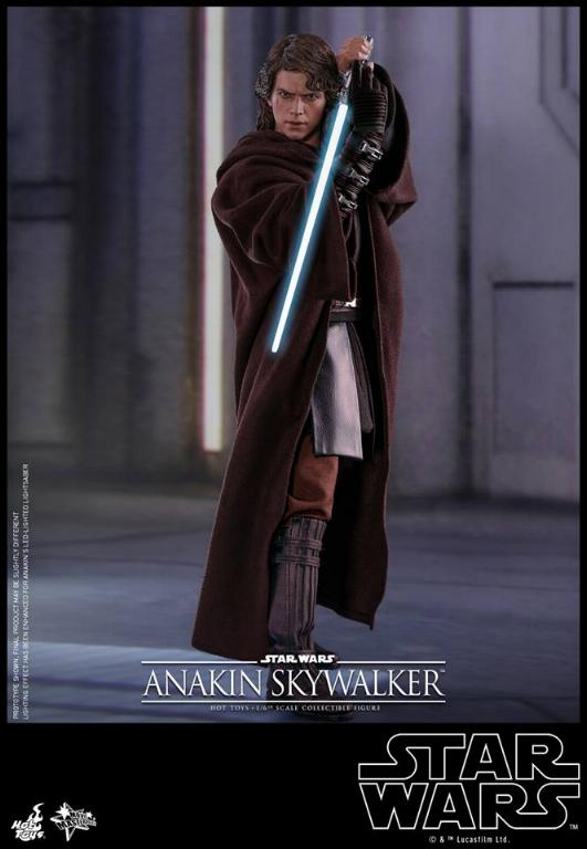 Hot Toys Star Wars EP3 Anakin Skywalker Sixth Scale Figure  Anasky38