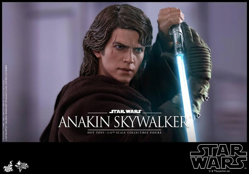 Hot Toys Star Wars EP3 Anakin Skywalker Sixth Scale Figure  Anasky39
