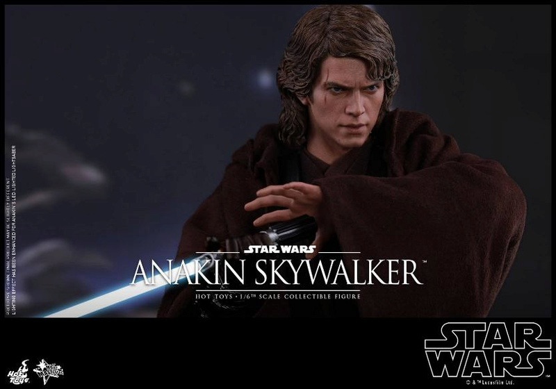 Hot Toys Star Wars EP3 Anakin Skywalker Sixth Scale Figure  Anasky40