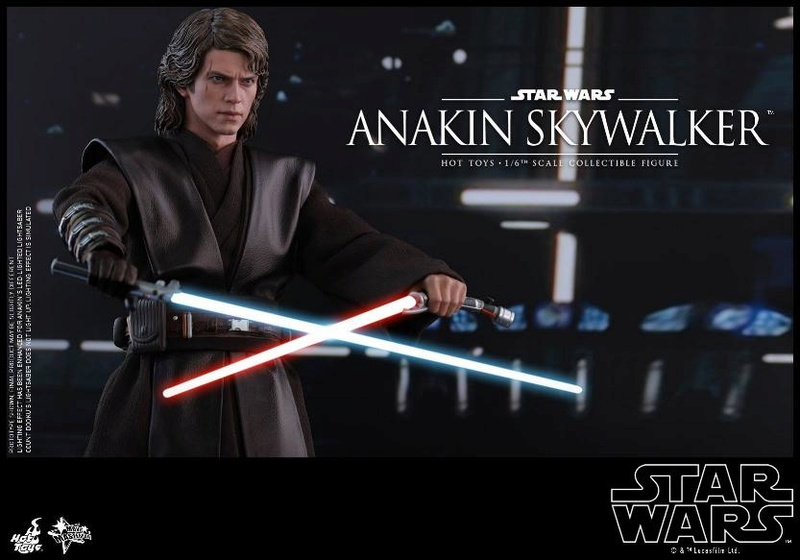 Hot Toys Star Wars EP3 Anakin Skywalker Sixth Scale Figure  Anasky42