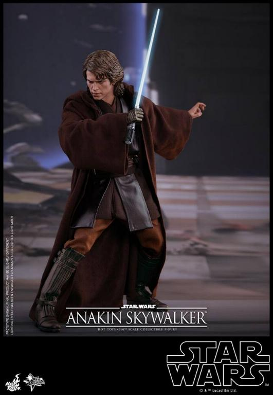 Hot Toys Star Wars EP3 Anakin Skywalker Sixth Scale Figure  Anasky45