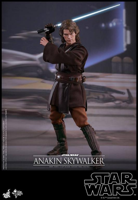 Hot Toys Star Wars EP3 Anakin Skywalker Sixth Scale Figure  Anasky46