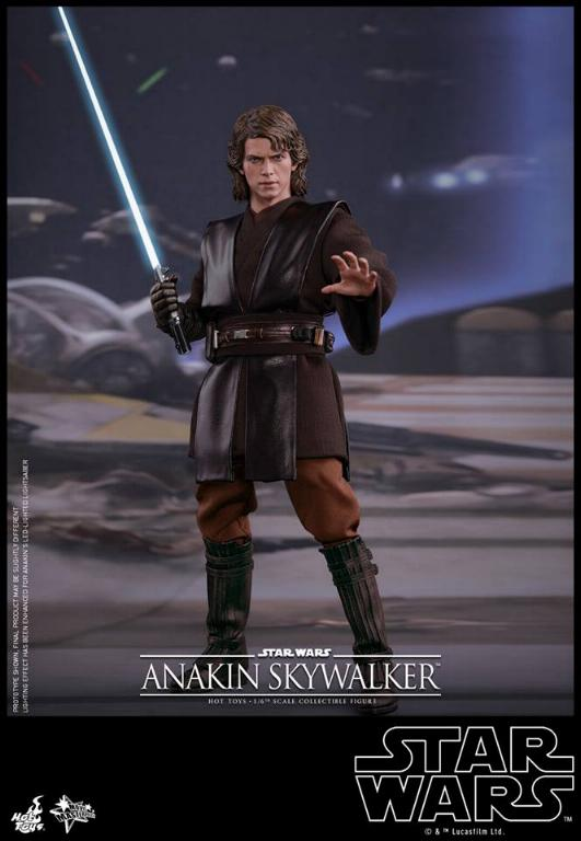 Hot Toys Star Wars EP3 Anakin Skywalker Sixth Scale Figure  Anasky47