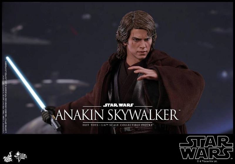 Hot Toys Star Wars EP3 Anakin Skywalker Sixth Scale Figure  Anasky50