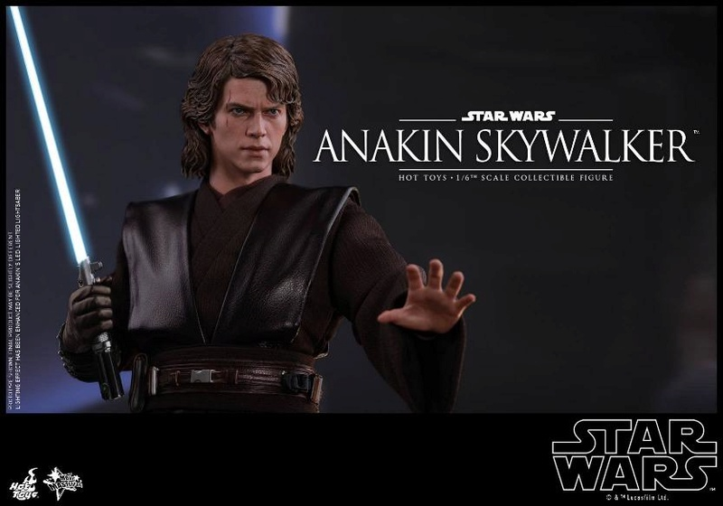 Hot Toys Star Wars EP3 Anakin Skywalker Sixth Scale Figure  Anasky52