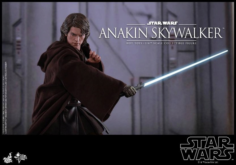 Hot Toys Star Wars EP3 Anakin Skywalker Sixth Scale Figure  Anasky53