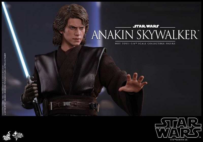 Hot Toys Star Wars EP3 Anakin Skywalker Sixth Scale Figure  Anasky54
