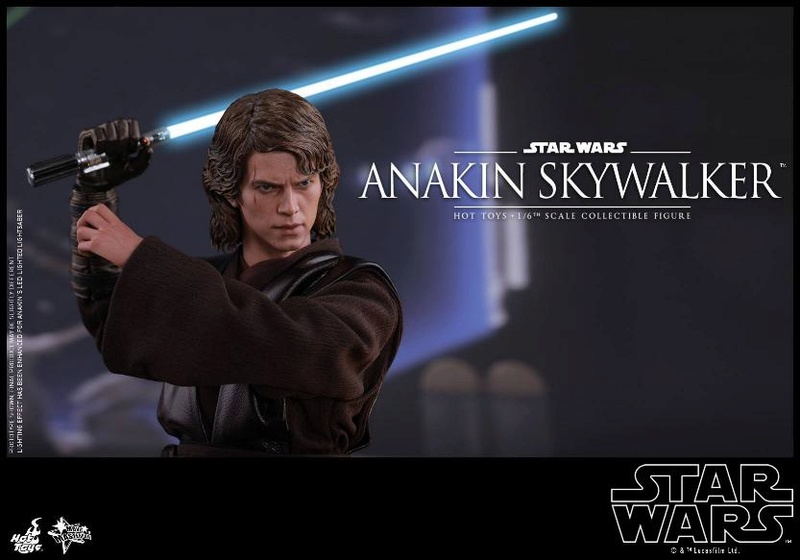 Hot Toys Star Wars EP3 Anakin Skywalker Sixth Scale Figure  Anasky55