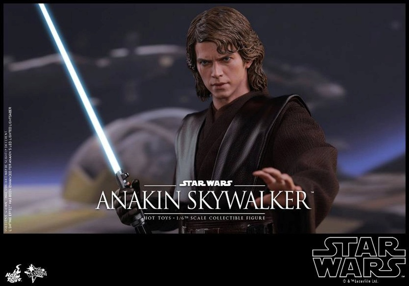 Hot Toys Star Wars EP3 Anakin Skywalker Sixth Scale Figure  Anasky56