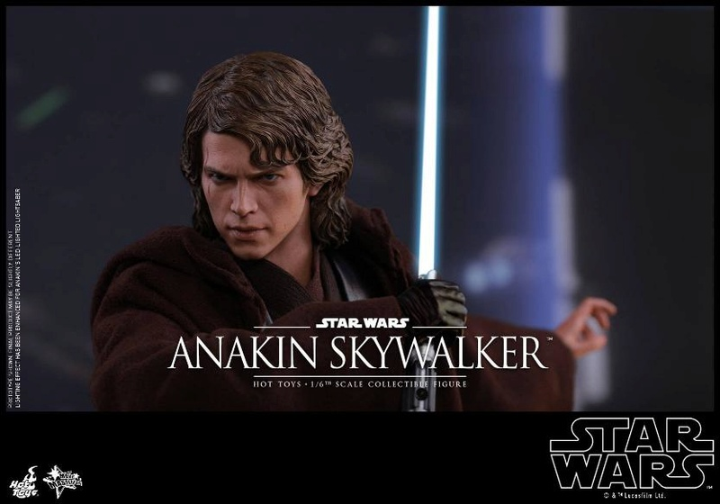 Hot Toys Star Wars EP3 Anakin Skywalker Sixth Scale Figure  Anasky57