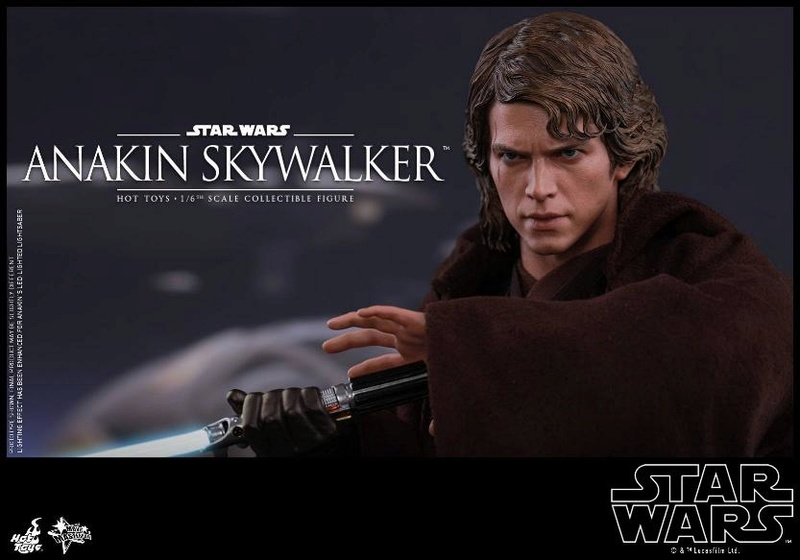 Hot Toys Star Wars EP3 Anakin Skywalker Sixth Scale Figure  Anasky58