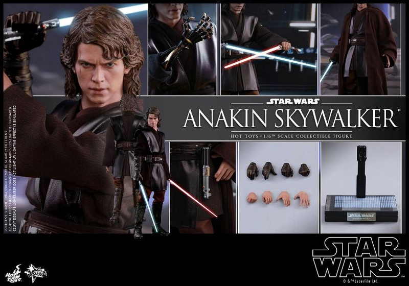 Hot Toys Star Wars EP3 Anakin Skywalker Sixth Scale Figure  Anasky59