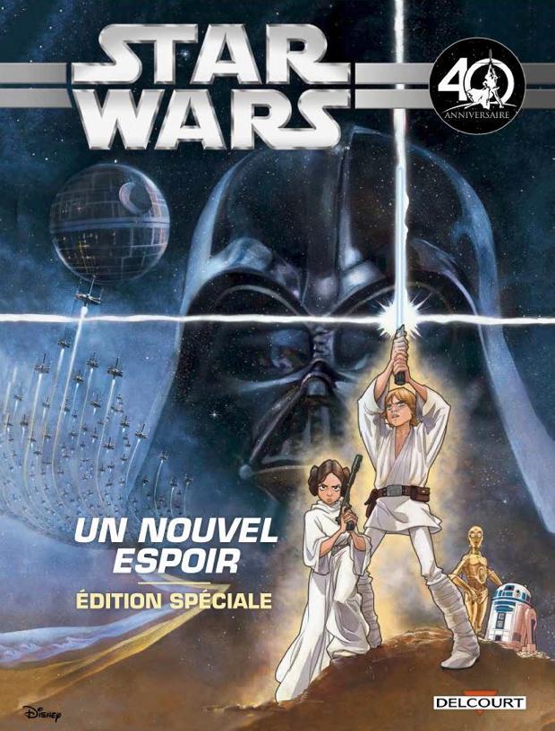Star Wars Épisode IV Un nouvel Espoir 40ème Anniv(Jeunesse) Anh_4010