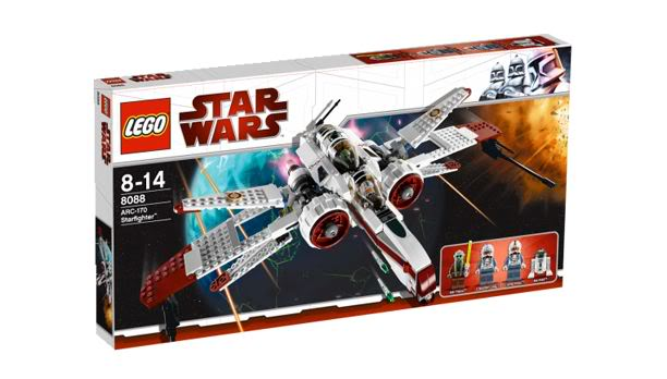 LEGO STAR WARS - 8088 - ARC-170 starfighter Arc0110