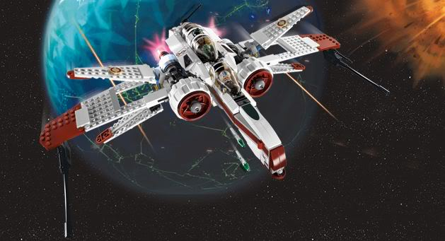 LEGO STAR WARS - 8088 - ARC-170 starfighter Arc0210