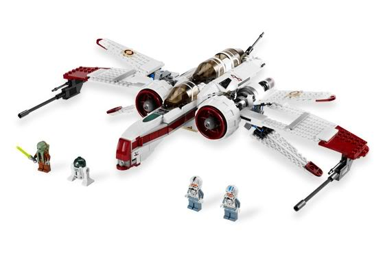 LEGO STAR WARS - 8088 - ARC-170 starfighter Arc0310