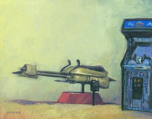 Artwork Star Wars - ACME - Arcade 1977, 1980, 1983 Arcade12
