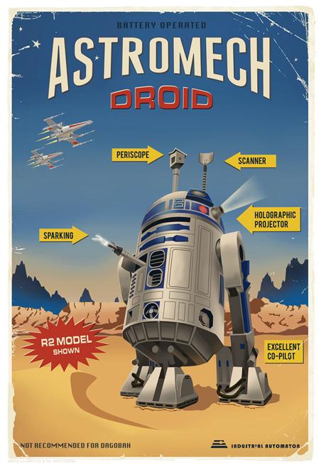 Artwork Star Wars - ACME - Astromech Droid Astrom10