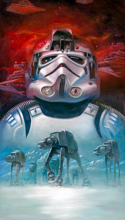 Artwork Star Wars - ACME - AT-AT Pilot At-at_10