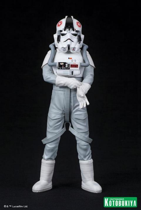 Kotobukiya: Star Wars AT-AT Driver ARTFX+ Statues At-at_27