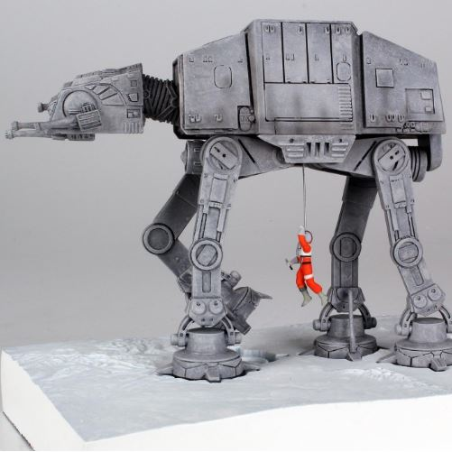 Gentle Giant AT-AT PG Exclusive Mini Bookends Atatmi10