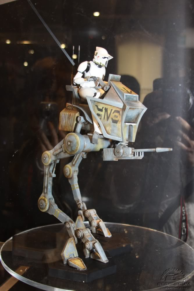 Gentle Giant - AT-RT w/Driver Maquette Atrtdr10