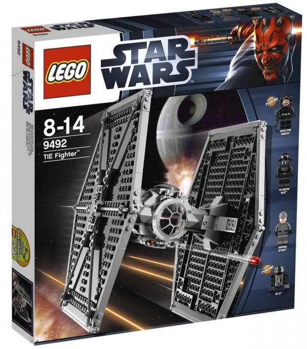 LEGO STAR WARS - 9492 - TIE FIGHTER  B_949210