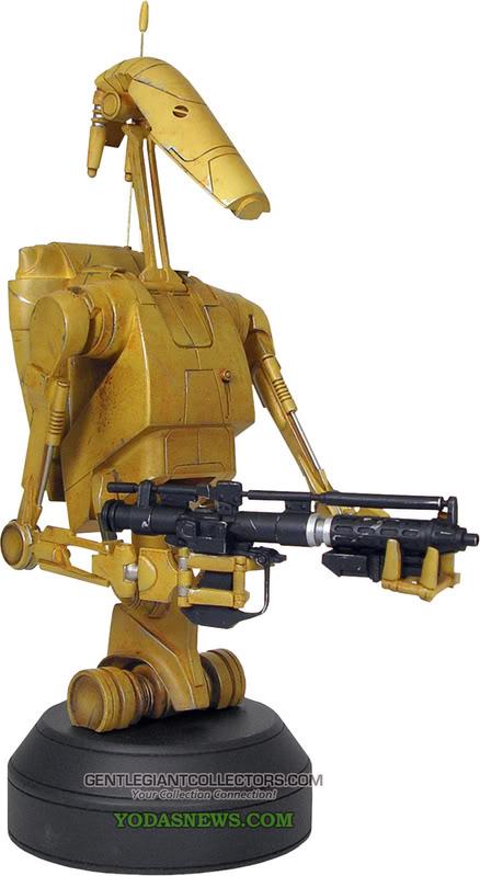 Gentle Giant - Droid de combat Mini Bust Battle47