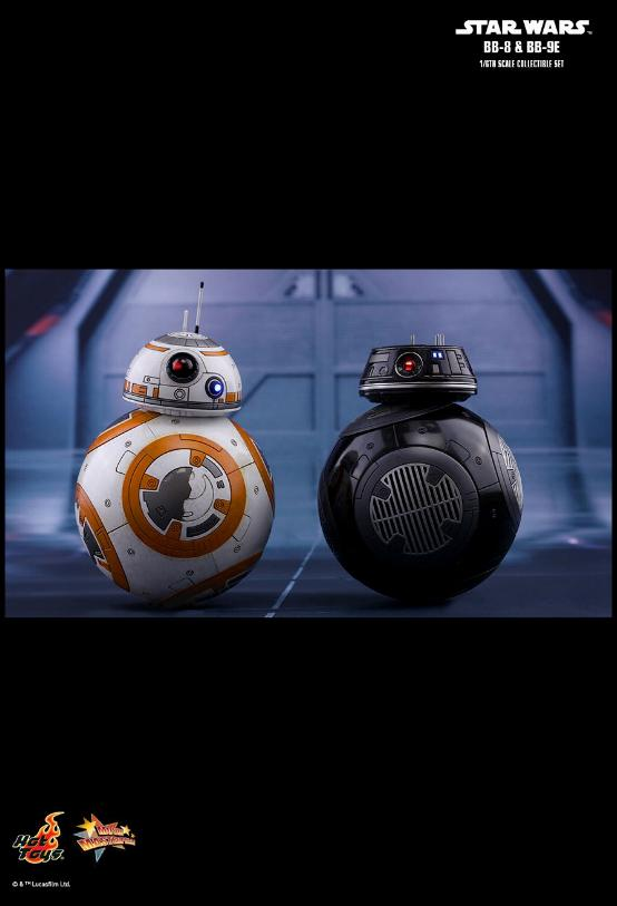 Hot Toys - Star Wars The Last Jedi BB-8 & BB-9E 1/6th Set Bb8-bb10
