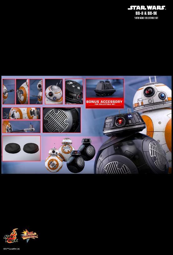 Hot Toys - Star Wars The Last Jedi BB-8 & BB-9E 1/6th Set Bb8-bb18