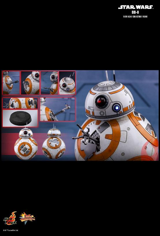 Hot Toys - Star Wars The Last Jedi BB-8 1/6th Scale Figure Bb8_0710