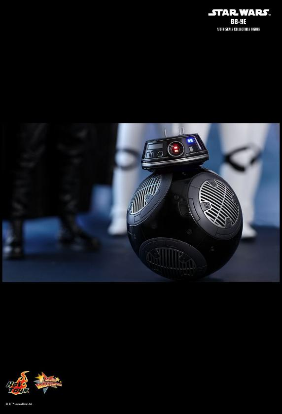 Hot Toys - Star Wars The Last Jedi BB-9E 1/6th Scale Figure Bb9e_024