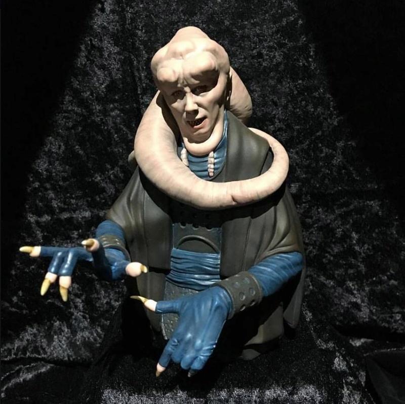 Gentle Giant Star Wars - Bib Fortuna mini bust Bib_mi10