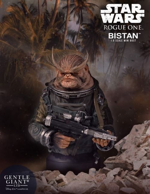 Gentle Giant - Bistan (Rogue One) Mini Bust Bistan10