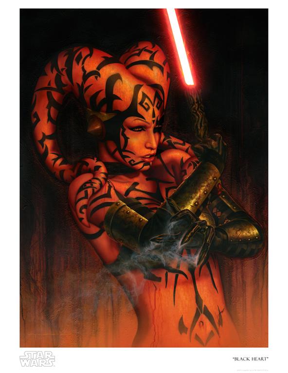 Artwork Star Wars - ACME - Black Heart Blackh10