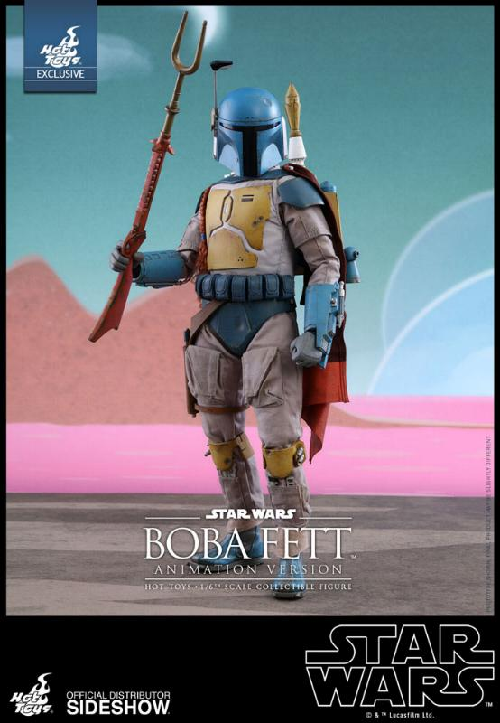 Hot Toys - Boba Fett (Animation Version) Sixth Scale Figure Boba_a11