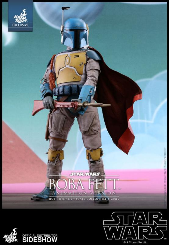 Hot Toys - Boba Fett (Animation Version) Sixth Scale Figure Boba_a12